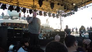 The Haunted - The Medication @ 70000 Tons of Metal 2014
