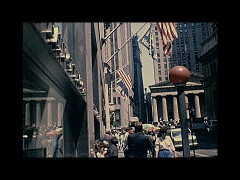 New York 1986 archive footage