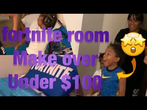 Fortnite Room Makeover Under $100