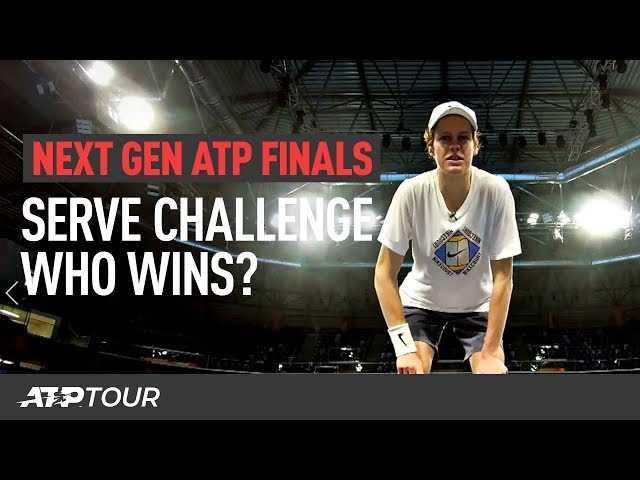 The Complete Next Gen Serve Challenge | Next Gen ATP Finals 2019