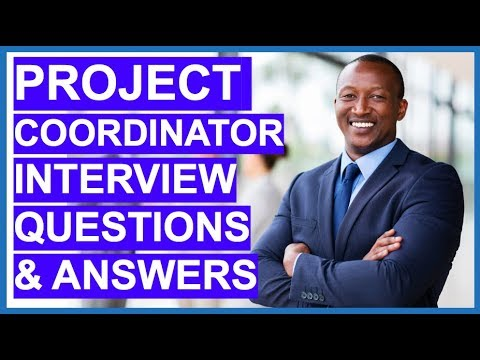 PROJECT COORDINATOR Interview Questions And Answers!