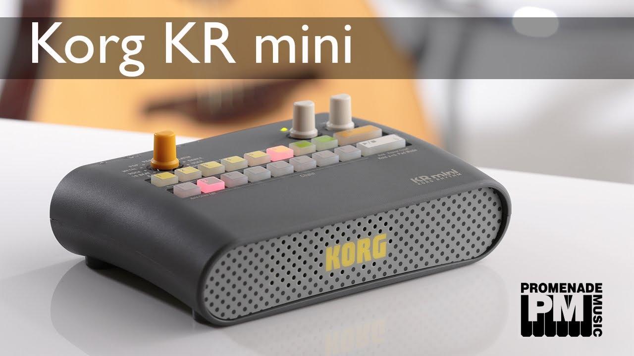 Drum Machine Mini : korg kr mini drum machine youtube ~ Russianpoet.info Haus und Dekorationen