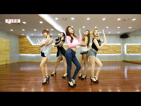 """[FIPA(피파)] Practice Performance(Eye contact ver.) -- 피에스타(FIESTAR) """"하나 더(One More)"""" [ENG/CHN SUB]"""