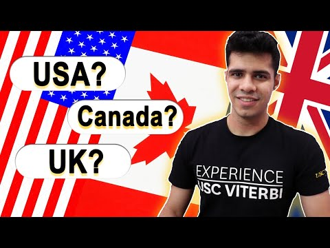 USA vs UK vs Canada: Best Country to Study in