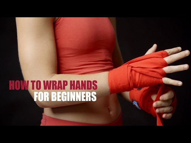 Begining Boxers How to Wrap Hands