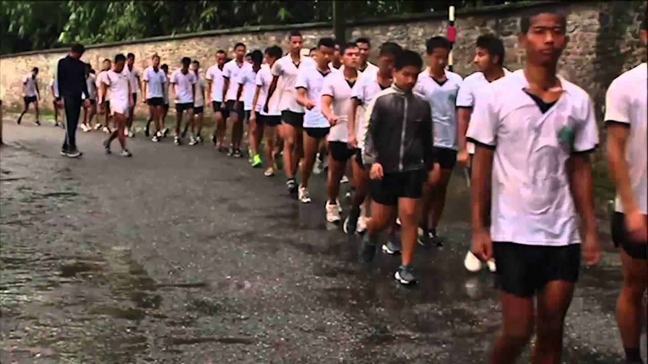 Video Training To Be Gurkhas Youtube