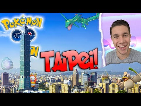 What is Pokémon Go Like in Taipei, Taiwan? LUCKIEST DAY EVER! (Generation 3)