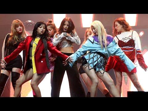[풀영상] CLC(씨엘씨) 'Hobgoblin'(도깨비) Showcase (CRYSTYLE, Hyuna, 현아, Liar, Mistake, Meow Meow) [통통영상]