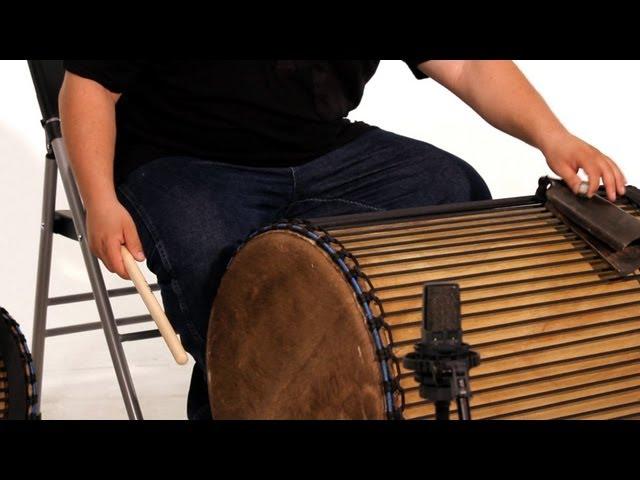 How to Play the Dundun Kuku Rhythm | African Drums