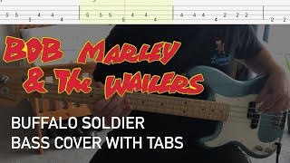 Bob Marley and the Wailers - Buffalo Soldier (Bass Cover with Tabs)