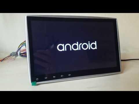2din Pioneer Pi 807 10 дюймов. Android 7.1.1. (Китай) Обзор 2din Pi807, 707, 803, 1007, 903, 7023