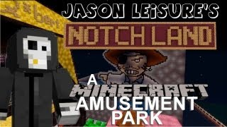 Notchland - A Minecraft Amusement Park Mega Build XBOX 360 with Download