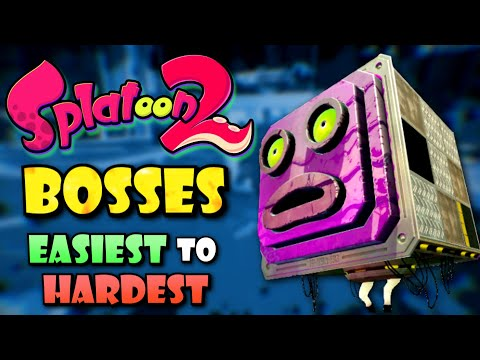 All Splatoon 2 Bosses Ranked from Easiest to Hardest
