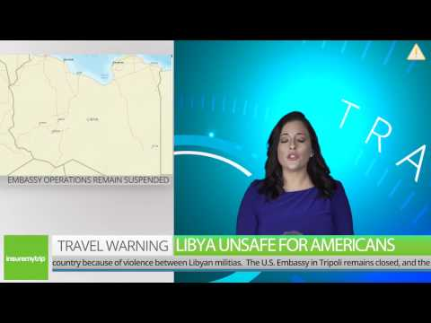 Travel Warning Libya