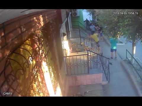 Нападение военных г. Армянск 05.08.2018