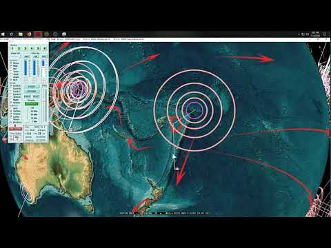 11/02/2018 -- West Coast California earthquake swarm -- New Pacific Deep activity -- Keep watch