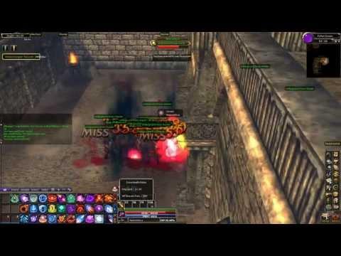 Dekaron....solo dunjeon run...Python~~  lv107 wizard defeating deux marble