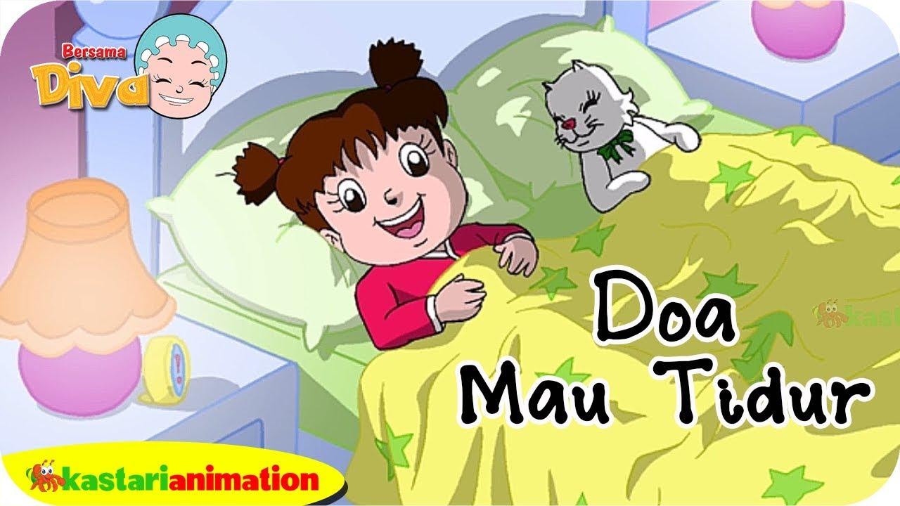 Doa Sebelum Tidur Bersama Diva Kastari Animation Official Youtube