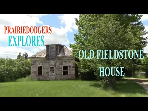 Exploring Old Field Stone House Urban Exploration # 33
