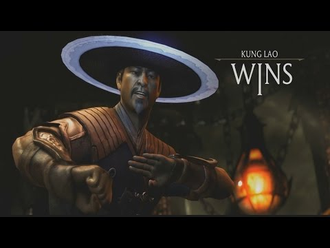 Mortal Kombat X - Kung Lao All Fatalites/ Brutalities/ X-Ray Gameplay