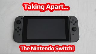 Taking Apart The Nintendo Switch - Tech Wave