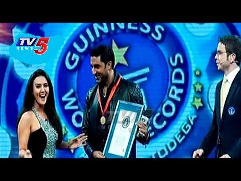 Abhishek Bachchan breaks Will Smith's World Record   Telugu News   TV5 News