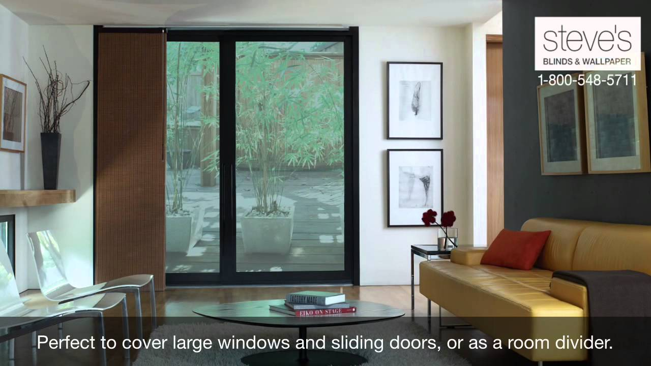 Use Levolor Panel Tracks For Large Windows, Doors Or As Room Dividers!    YouTube