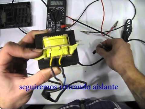 Reparar cargador de baterias youtube - Cargador de baterias ...