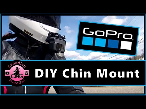 GoPro DIY Helmet Chin Mount | Shoei RF 1200 | Hero5 Motovlogging Mount