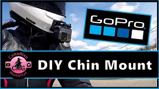 GoPro DIY Helmet Chin Mount | Shoei RF 1200 | Hero5 Motovloggi…