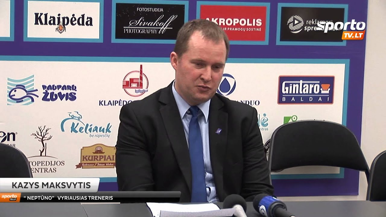 SportoTv.lt LKL: Neptūnas - Žalgiris komandų komentarai 2013-04-01