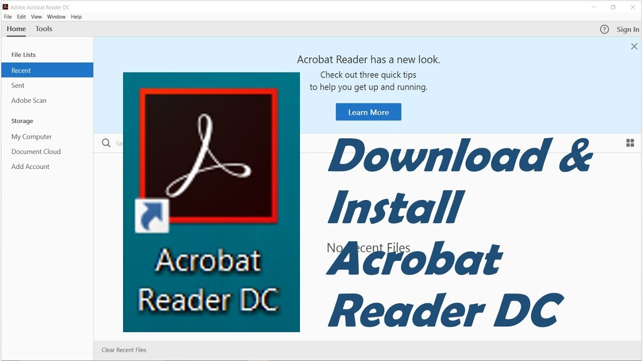 How To Download And Install Adobe Acrobat Reader DC For Windows 10/8/7 ||  Latest Version