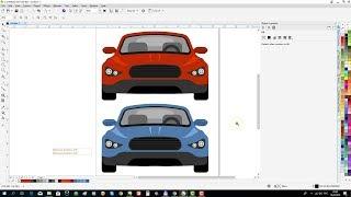 CorelDraw Tutorial: Draw a Car Front View