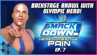 HERE COMES THE PAIN #7: BACKSTAGE BRAWL with OLYMPIC HERO - UpUpDownDown Plays
