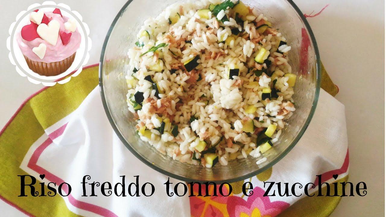 Insalata di riso freddo tonno e zucchine insalate di for Ricette di riso