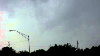 Brief Tornado-Geuda Springs, Kansas-9/1/2014