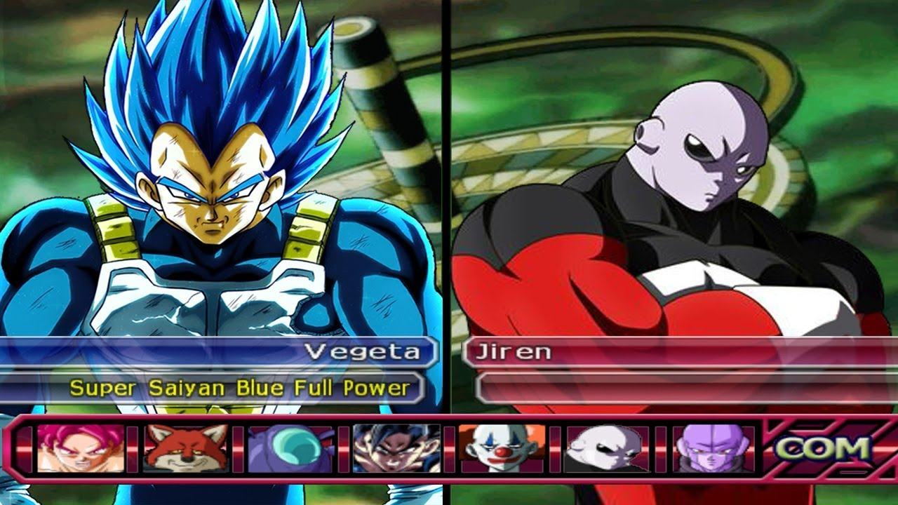 Vegeta SSJ Blue Full Power VS Jiren - Dragon Ball Z ...