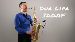 Baixar Dua Lipa - IDGAF [Saxophone Cover] by Juozas Kuraitis