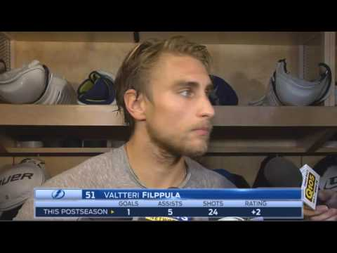 Valtteri Filppula -- Tampa Bay Lightning vs. Pittsburgh Peng
