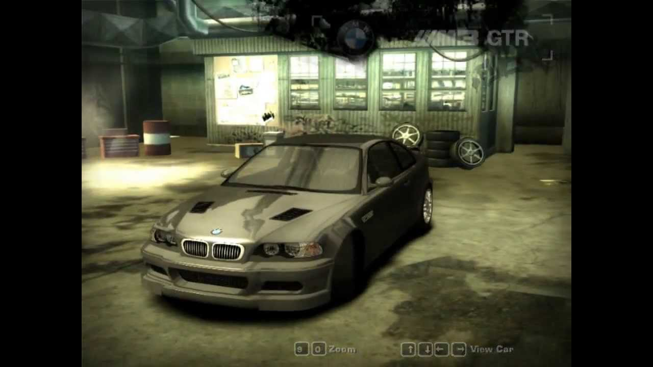Nfs Most Wanted Hidden Bmw M3 Gtr Street Youtube