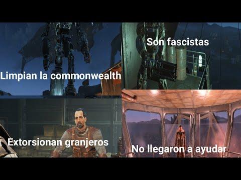¿La Hermandad Del Acero La Mejor Facción?  | Fallout 4