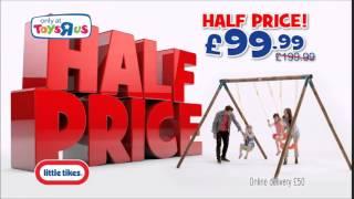 Half Price Deals: Little Tikes Oslo Wooden Swing Set