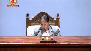 First female Speaker Onsari Gharti Magar chaired the parliament meeting
