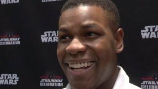 John Boyega On 'Finn' and 'Rose' in Star Wars The Last Jedi