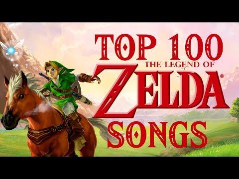 Top 100 The Legend of Zelda Songs (2017)