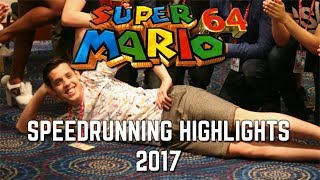 BEST SM64 SPEEDRUNNING HIGHLIGHTS OF 2017!