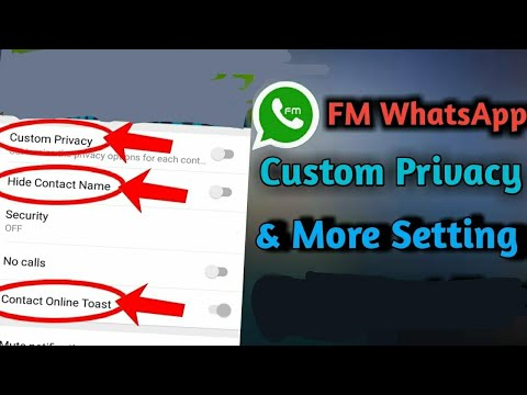fm whatsapp privacy settings/#fmwhatsapp/#ramanpb03/fm whatsapp ...