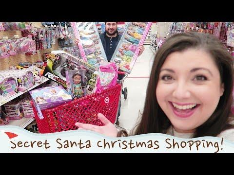 Secret Santa Speed Shopping for Charity!   VLOGMAS DAY 22   Bits of Paradis