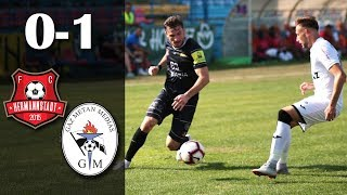 Rezumat: FC Hermannstadt - Gaz Metan Medias - 0 - 1 (0-0)