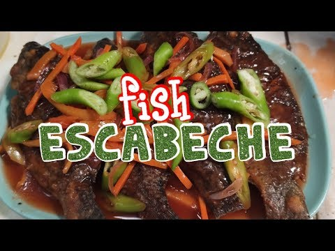 Escabeche Panlasang Pinoy(Tilapia Escabeche)How To Cook Filipino Escabeche(Fish Escabeche 2019)